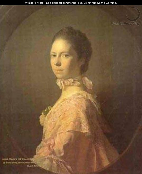Portrait Of Anne Brown 1763 - Allan Ramsay