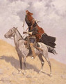 The Blanket Signal 1896 - Frederic Remington