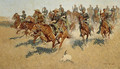 On the Southern Plains 1907 - Frederic Remington
