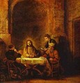 The Supper At Emmaus 1648 - Harmenszoon van Rijn Rembrandt