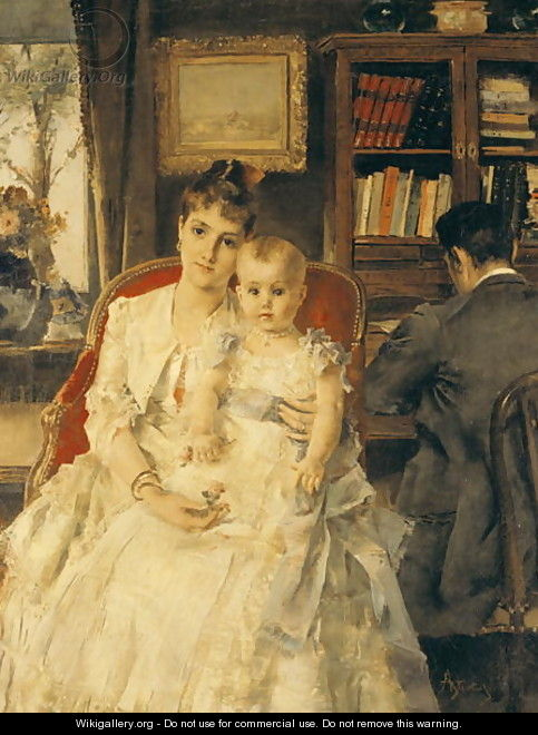 All Happiness - Alfred Stevens