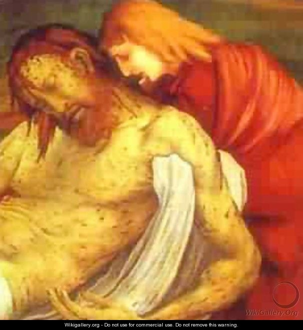 The Entombment Detail 1510-1515 - Matthias Grunewald (Mathis Gothardt)
