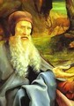 St Anthony Visiting St Paul the Hermit in the Desert detail - Matthias Grunewald (Mathis Gothardt)