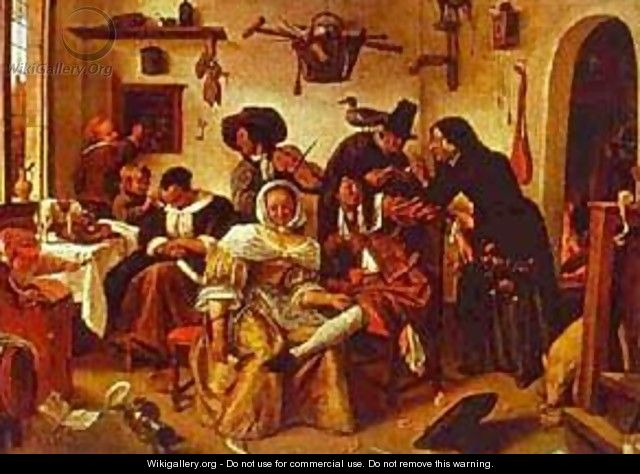 The World Upside Down 1663 - Jan Steen