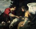 Tobias and the Archangel Raphael - Jacopo Vignali