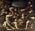 The Resurrection of Lazarus 1619 - Guercino