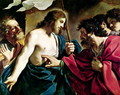 The Incredulity of St Thomas - Guercino