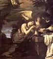 Magdalen And Two Angels 1622 - Guercino