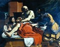 Jacob Ephraim and Manasseh - Guercino