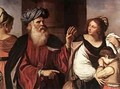 Abraham Casting Out Hagar And Ishmael 1657 - Guercino