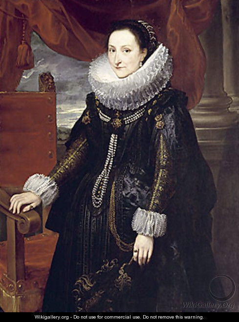 Portrait of a Woman 2 - Cornelis De Vos