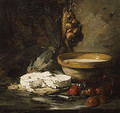 Still Life with Cheese probably late 1870s - Antoine Vollon