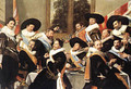 Banquet Of The Officers Of The St George Civic Guard - Frans Hals