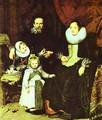 Portrait Of The Artist With His Family 1621 - Cornelis De Vos