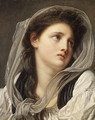 Head of a Young Woman mid 1770s - Jean Baptiste Greuze