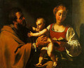 The Holy Family - Antiveduto Gramatica