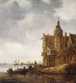 Country House near the Water 1646 - Jan van Goyen