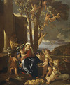 The Rest on the Flight into Egypt ca 1627 - Nicolas Poussin