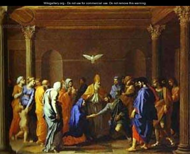The Marriage Of The Virgin 1640 - Nicolas Poussin