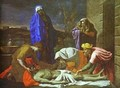 The Lamentation Over Christ 1655-1657 - Nicolas Poussin