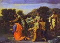 The Baptism Of Christ 1650s - Nicolas Poussin