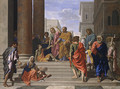 Saints Peter and John Healing the Lame Man 1655 - Nicolas Poussin