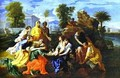 Baby Moses Saved From River 1651 - Nicolas Poussin