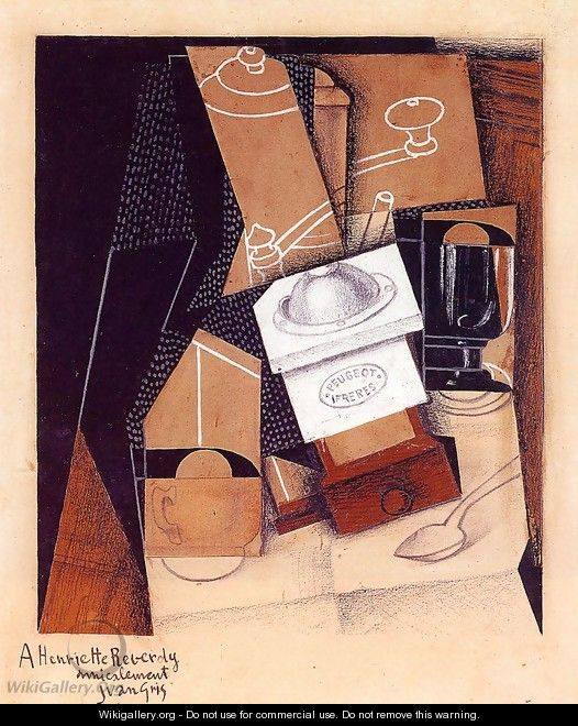 The Cloud 2 1921 - Juan Gris