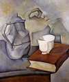 Still Life with Book 1913 - Juan Gris