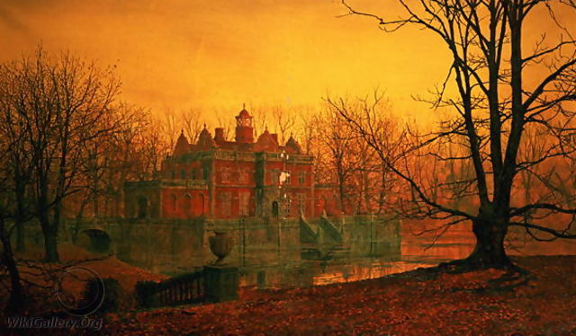 The Haunted House - John Atkinson Grimshaw