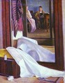 Reflection In The Mirror Second Half Of 1840s - Grigori Vasilievich Soroka