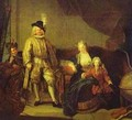 Portrait Of Baron Von Erlach With His Family 1711 - Antoine Pesne