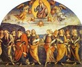 The Almighty With Prophets And Sybils 1500 2 - Pietro Vannucci Perugino