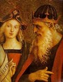 The Almighty With Prophets And Sybils (Detail) 3 1500 - Pietro Vannucci Perugino