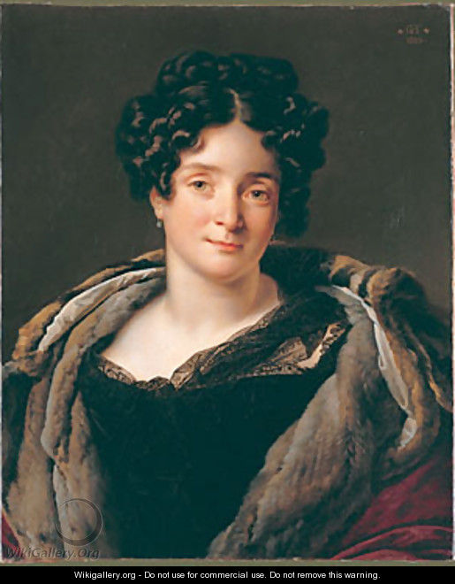 Madame Jacques Louis Reizet - Anne-Louis Girodet de Roucy-Triosson