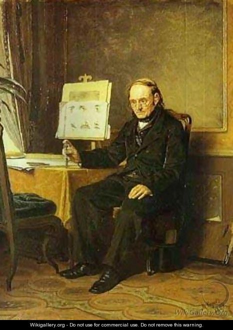 Teacher Of Drawing 1867 - Vasily Perov