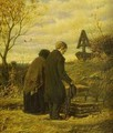 Old Parents Visiting The Grave Of Their Son 1874 - Vasily Perov