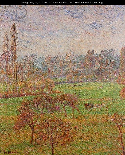 Morning Autumn Efagny 1892 - Camille Pissarro