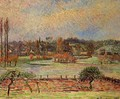 Flood Morning Effect Eragny 1892 - Camille Pissarro