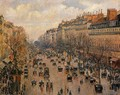 Boulevard Montmartre Afternoon Sunlight 1897 - Camille Pissarro