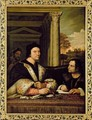 Ferry Carondelet and his Secretary - Sebastiano Del Piombo (Luciani)