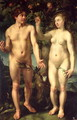 Adam and Eve 1608 - Hendrick Goltzius