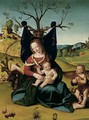 Madonna with Child and the Young St John c 1505 1510 - Piero Di Cosimo