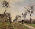Road to Louveciennes 1870 - Camille Pissarro
