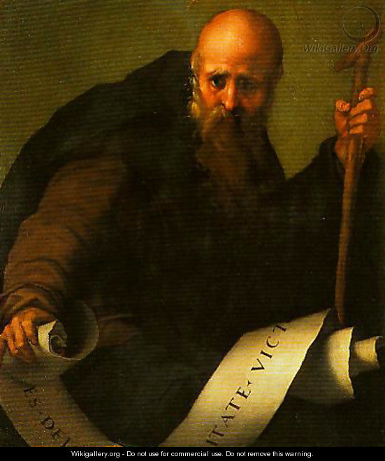 St Anthony Abbot - (Jacopo Carucci) Pontormo