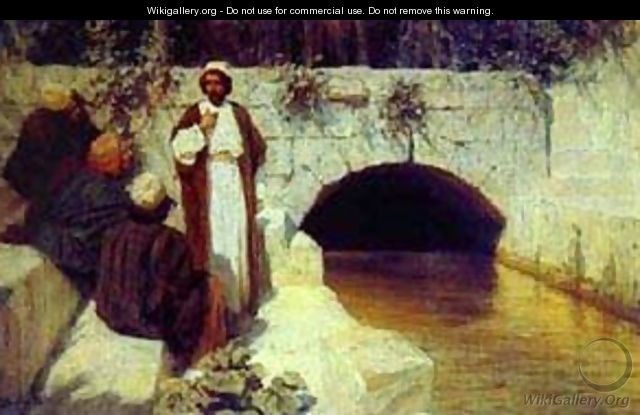 What People Think About Me From The Series The Life Of Christ 1900 - Vasily Polenov