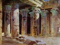 The Temple Of Isis 1882 - Vasily Polenov