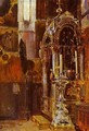 The Shrine Of The Metropolitan Iona In The Uspensky Cathedral 1877 - Vasily Polenov