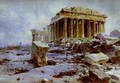 The Parthenon Temple Of Athena Pallas - Vasily Polenov