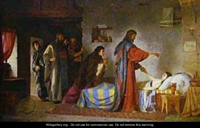 Raising Of Jairus Daughter 1871 - Vasily Polenov